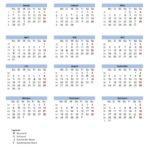 Mondkalender 2019 zum Ausdrucken (PDF-Datei)