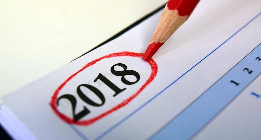 Kalender 2018 Schweiz
