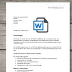 Arbeitszeugnis Muster – gratis Word-Vorlage (Schweiz)