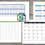 Kalender 2019 Excel (Schweiz)