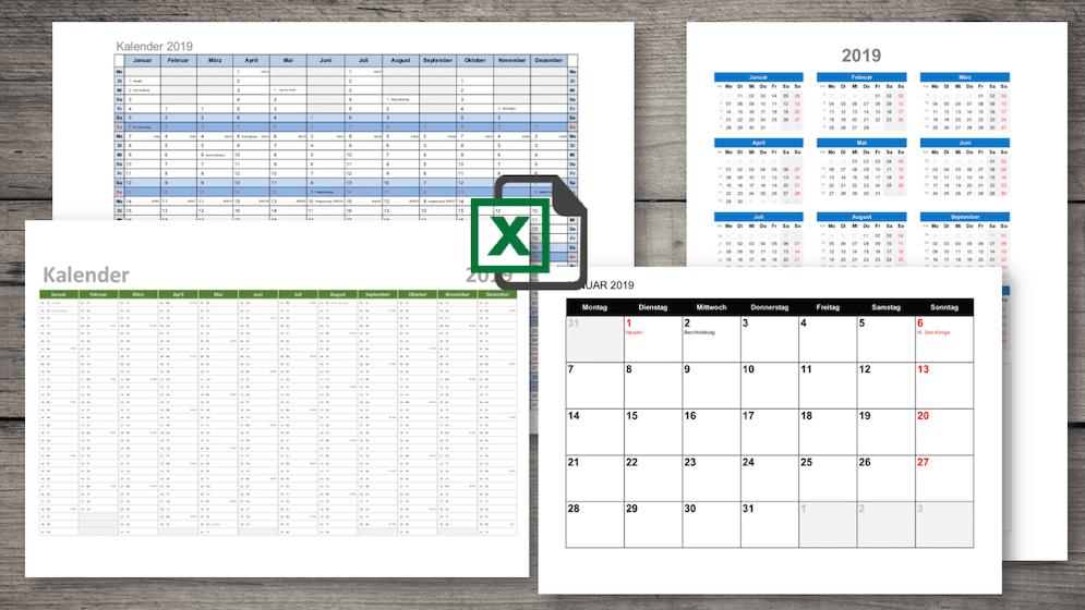 Kalender 2019 Excel