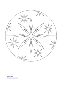 PDF Vorlage Mandala