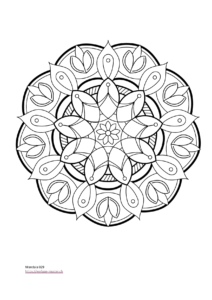 Download Vorlage Mandala