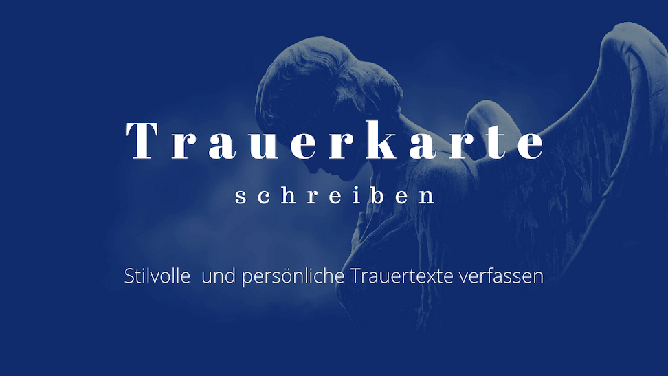 trauerkarte text