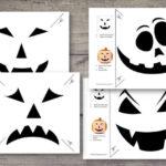 Halloween Kürbis schnitzen – Schnitzvorlagen zum Ausdrucken