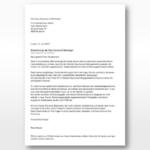 Bewerbungsschreiben Vorlagen