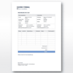 Rechnungsvorlage Schweiz